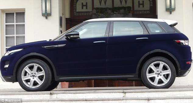 Range Rover Velvet wrapped