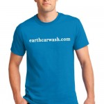 Free Car Detailing t-shirt from Earth Car Wash