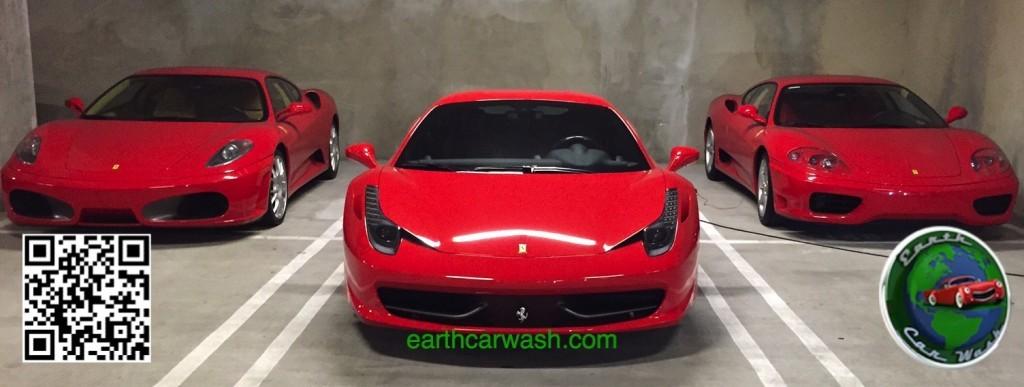 3 Ferrari Car Detailing Earth Car Wash